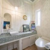 注文住宅 かっこいい工務店 不動産プラザ 施工例10i パウダールーム トイレ