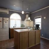 注文住宅 かっこいい工務店 不動産プラザ 施工例7 オープンキッチン