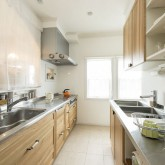 注文住宅 かっこいい工務店 不動産プラザ 施工例3f キッチン