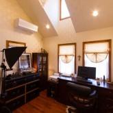注文住宅 かっこいい工務店 不動産プラザ 施工例4f 趣味の部屋