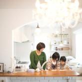 注文住宅 かっこいい工務店 不動産プラザ 施工例6d オープンキッチン
