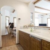 注文住宅 かっこいい工務店 不動産プラザ 施工例8e 造作 オープンキッチン