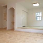 注文住宅 かっこいい工務店 福井建設の家 施工例10f 和室 PCスペース