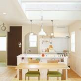 注文住宅 かっこいい工務店 福井建設の家 施工例1d ダイニングキッチン