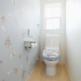 注文住宅 かっこいい工務店 福井建設の家 施工例1l トイレ