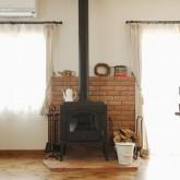 注文住宅 かっこいい工務店 福井建設の家 施工例3g 暖炉