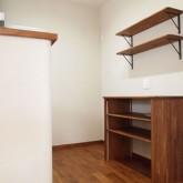 注文住宅 かっこいい工務店 福井建設の家 施工例6g キッチン 造作棚