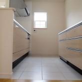 注文住宅 かっこいい工務店 福井建設の家 施工例9e キッチン