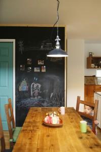 かっこいい工務店 福井建設の家 施工例2i らくがき黒板