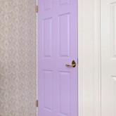 かっこいい工務店 ジェイプラン施工例8k コロニアルドア 紫