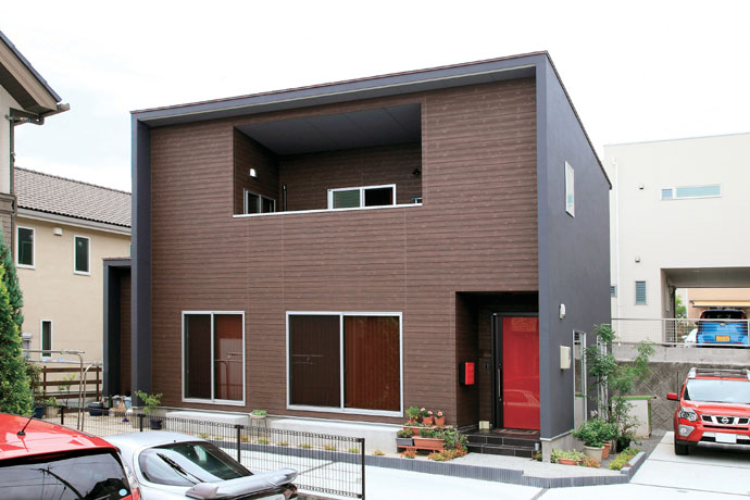 注文住宅 かっこいい工務店 在来工法 ブレス 成功例8 熊本県熊本市北区 シンプルモダン