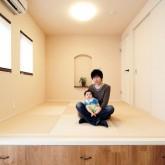 注文住宅 かっこいい工務店 輸入住宅 ブレス 施工例1 和室