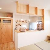 注文住宅 かっこいい工務店 輸入住宅 ブレス 施工例2 造作キッチン