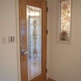 注文住宅 かっこいい工務店 オーダーメイド ミューズ建築工房 施工例1 エントランスホール 室内ドア