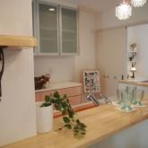 注文住宅 かっこいい工務店 オーダーメイド ミューズ建築工房 施工例1 オープンキッチン 造作棚