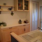 注文住宅 かっこいい工務店 オーダーメイド ミューズ建築工房 施工例2 二世帯 造作キッチン バック収納