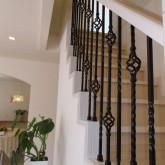 注文住宅 かっこいい工務店 オーダーメイド ミューズ建築工房 施工例3 階段 アイアン手摺り