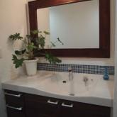 注文住宅 かっこいい工務店 オーダーメイド ミューズ建築工房 施工例4 造作洗面