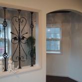 注文住宅 かっこいい工務店 オーダーメイド ミューズ建築工房 施工例4 無垢フローリング アーチ壁 アイアン窓