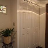 注文住宅 かっこいい工務店 オーダーメイド ミューズ建築工房 施工例5 クローゼット コロニストドア
