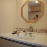 注文住宅 かっこいい工務店 オーダーメイド ミューズ建築工房 施工例6  パウダールーム 造作洗面