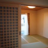 注文住宅 かっこいい工務店 オーダーメイド ミューズ建築工房 施工例6  和室 モダン