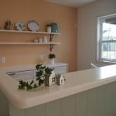 注文住宅 かっこいい工務店 オーダーメイド ミューズ建築工房 施工例7 アーチ壁 造作キッチン オープンキッチン