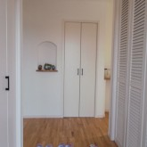 注文住宅 かっこいい工務店 オーダーメイド ミューズ建築工房 施工例8 エントランスホール シューズクローク