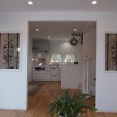 注文住宅 かっこいい工務店 オーダーメイド ミューズ建築工房 施工例8 ダイニングキッチン 造作キッチン