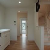 注文住宅 かっこいい工務店 オーダーメイド ミューズ建築工房 施工例8 造作キッチン
