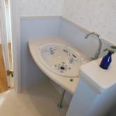 注文住宅 かっこいい工務店 オーダーメイド ミューズ建築工房 施工例8 トイレ 造作洗面