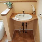 注文住宅 かっこいい工務店 オーダーメイド ミューズ建築工房 施工例9 トイレ 造作洗面