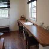 注文住宅 かっこいい工務店 オーダーメイド ミューズ建築工房 施工例9 リビング ワークスペース