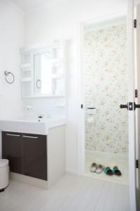 注文住宅 かっこいい工務店 Ie Plan イエプラン モデルハウス 南仏スタイル 2階 洗面 トイレ