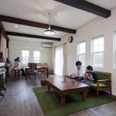 注文住宅 かっこいい工務店 ハウスデザイン Ie Plan イエプラン 施工例7c LDK 無垢フローリング