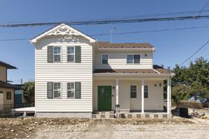 注文住宅 かっこいい工務店 ハウスデザイン Ie Plan イエプラン 施工例8 北米スタイル