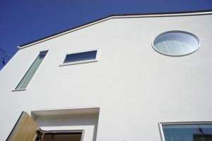 注文住宅 かっこいい工務店 ハウスデザイン イエプラン 江曽島モデルハウスオープン まん丸 四角 積み木 窓