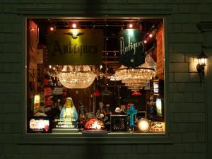 atelier 366 アンティークランプのリペアとシャンデリア製作の工房 東京都目黒区中目黒 アトリエ366 店舗1