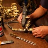 atelier 366 アンティークランプの修理とシャンデリア製作の工房 東京都目黒区中目黒 アトリエ366 店舗内10