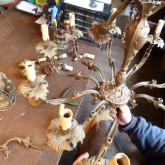 atelier366 アンティークランプの修理 シャンデリア製作の工房_b