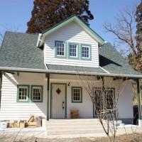 注文住宅 かっこいい工務店 規格住宅 ブレスホーム 赤毛のアン 完成見学会 緑の切り妻屋根