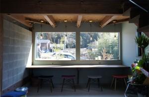 注文住宅 かっこいい工務店 規格住宅 ブレスホーム カフェ完成見学会 カウンター席