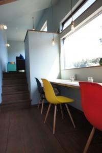 注文住宅 かっこいい工務店 規格住宅 ブレスホーム カフェ完成見学会 中2階