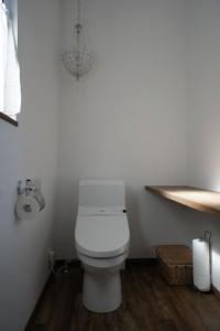 注文住宅 かっこいい工務店 規格住宅 ブレスホーム カフェ完成見学会 トイレ女性