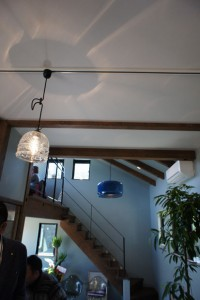 注文住宅 かっこいい工務店 規格住宅 ブレスホーム カフェ完成見学会 照明