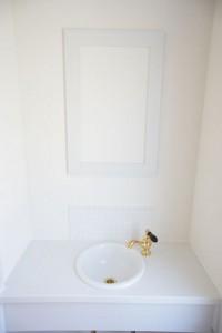 注文住宅 かっこいい工務店 輸入住宅 北条建設 完成見学会 ゲストルーム トイレ 洗面