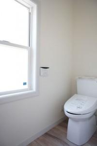 注文住宅 かっこいい工務店 輸入住宅 北条建設 完成見学会 ゲストルーム トイレ