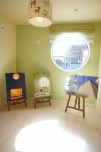 かっこいい工務店 ハウスデザイン イエプラン 栃木県宇都宮市江曽島 モデルハウスオープン 2F 子供部屋2_2