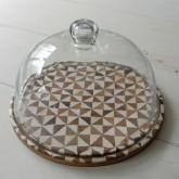 注文住宅 かっこいい工務店 インテリア オルネ ル フォイユ モザイクボード グラスドーム