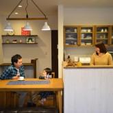 注文住宅 かっこいい工務店 規格住宅 熊本 ブレス 施工例 熊本市東区 ナチュラルモダン ダイニングキッチン